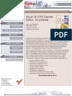Visual C# 2005 Express Edition. Od podstaw
