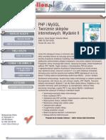 PHP i MySQL. Tworzenie sklepów internetowych. Wydanie II