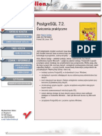 PostgreSQL 7.2. Ćwiczenia praktyczne