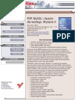 PHP, MySQL i Apache dla każdego. Wydanie II