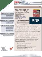 CSS. Antologia. 101 wskazówek i trików