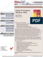 Usługi terminalowe Windows 2000