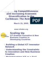 Improving Competitiveness and Increasing Economic Diversifi cation in the Caribbean
