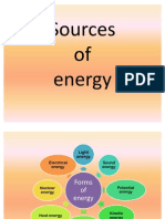 Sources of Energy 3