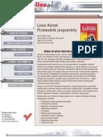 Linux Kernel. Przewodnik programisty