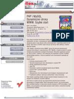 PHP i MySQL. Dynamiczne strony WWW. Szybki start