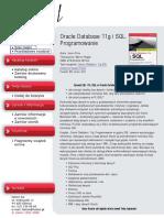 Oracle Database 11g i SQL. Programowanie