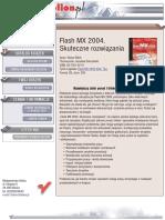 Flash MX 2004. Skuteczne rozwiązania