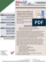 Przyjazne witryny WWW. Jak uczynić lepszymi komunikaty o błędach, Pomoc, formularze i inne kluczowe punkty witryny