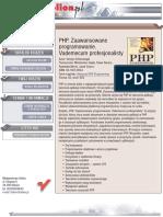 PHP. Zaawansowane programowanie.  Vademecum profesjonalisty