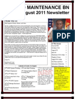 Aug 2011 Newsletter