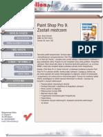 Paint Shop Pro 9. Zostań mistrzem
