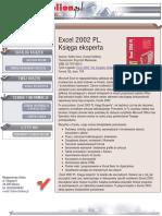 Excel 2002 PL. Księga eksperta