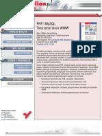 PHP i MySQL. Tworzenie stron WWW