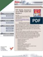 PHP i MySQL. Dynamiczne strony WWW. Szybki start. Wydanie II