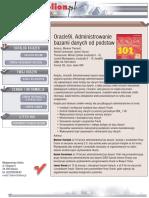 Oracle9i. Administrowanie bazami danych od podstaw