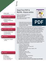 Head First PHP & MySQL. Edycja polska (Rusz głową!)