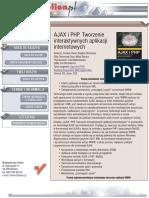 AJAX i PHP. Tworzenie interaktywnych aplikacji internetowych