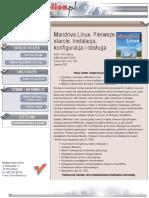 Mandriva Linux. Pierwsze starcie. Instalacja, konfiguracja i obsługa