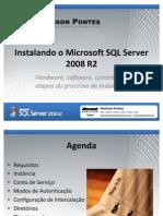 Módulo 02 - Instalando o Microsoft SQL Server 2008 R2