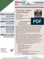 Rozbudowa i naprawa systemu Windows