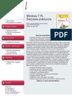 Windows 7 PL. Ćwiczenia praktyczne