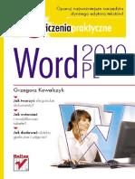 Word 2010 PL. Ćwiczenia praktyczne
