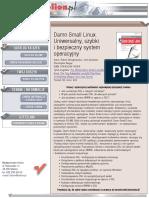 Damn Small Linux. Uniwersalny, szybki i bezpieczny system operacyjny