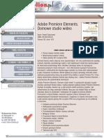 Adobe Premiere Elements. Domowe studio wideo