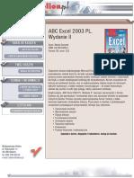 ABC Excel 2003 PL. Wydanie II