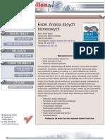 Excel. Analiza danych biznesowych