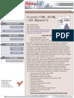 Po prostu HTML, XHTML i CSS. Wydanie VI