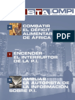 Revista de la OMPI - Abril 2011