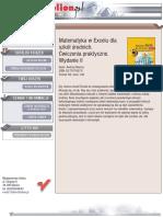 Matematyka w Excelu dla szkół średnich. Ćwiczenia praktyczne. Wydanie II