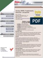 Serwisy WWW. Projektowanie, tworzenie i zarządzanie