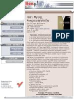 PHP i MySQL. Księga przykładów