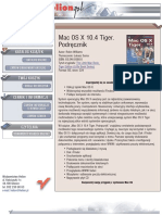 Mac OS X 10.4 Tiger. Podręcznik