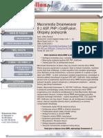 Macromedia Dreamweaver 8 z ASP, PHP i ColdFusion. Oficjalny podręcznik