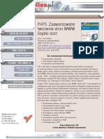 PHP5. Zaawansowane tworzenie stron WWW. Szybki start