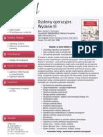 Systemy operacyjne. Wydanie III