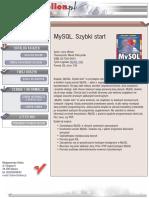 MySQL. Szybki start