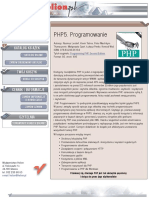 PHP5. Programowanie