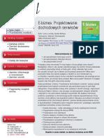 E-biznes. Projektowanie dochodowych serwisów