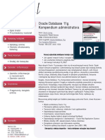 Oracle Database 11g. Kompendium administratora