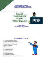 TALLER DE EVALUACIÓN DE LOS APRENDIZAJES
