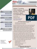 System 7 punktów Scotta Kelbyego. Kluczowe techniki, które dzielą przeciętne zdjęcie od prawdziwej fotografii
