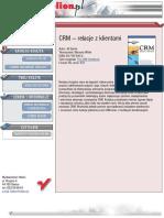 CRM. Relacje z klientami