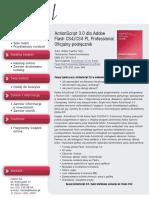 ActionScript 3.0 dla Adobe Flash CS4/CS4 PL Professional. Oficjalny podręcznik