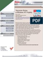 Tworzenie filmów w Windows XP. Projekty