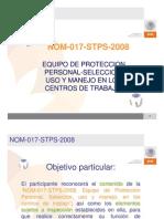 Presentación NOM-017STPS-2